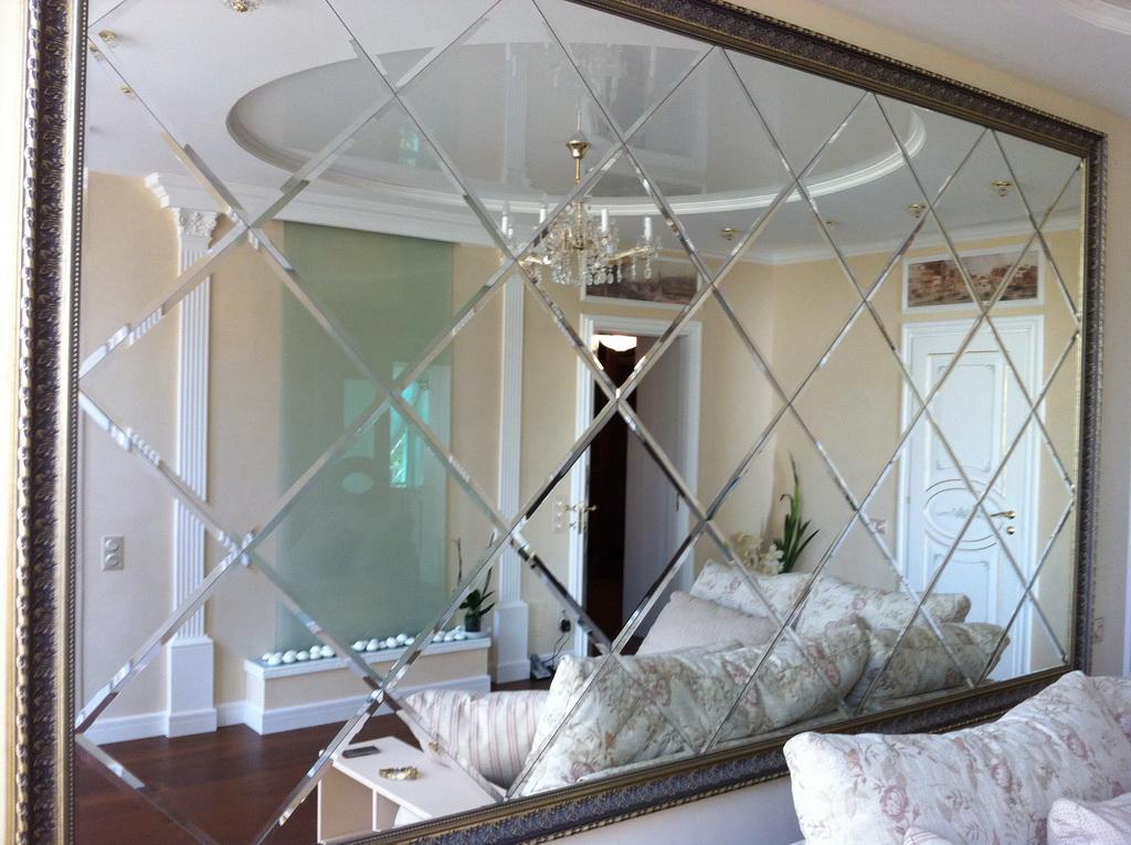 Поделки из зеркала и стекла 24
