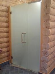 Душевые двери с добором